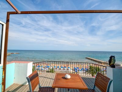 Photo for Blue sea front - One Bedroom Apartment, Sleeps 2