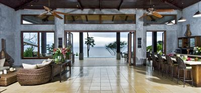 Photo for Brand New, Ocean Front Luxury Villa,  6 Bedroom, 6500sf