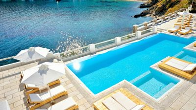 Photo for Sky Sea Boutique Villa Psarou Mykonos 5br upto 11guests