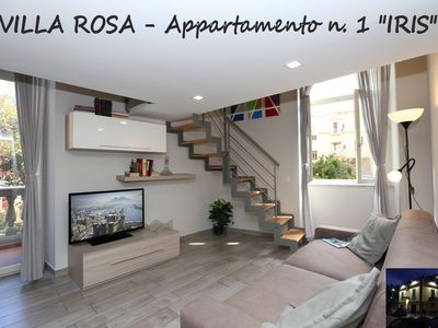 "Photo for VILLA ROSA - Apartment n. 1 ""IRIS"" (4 beds)"