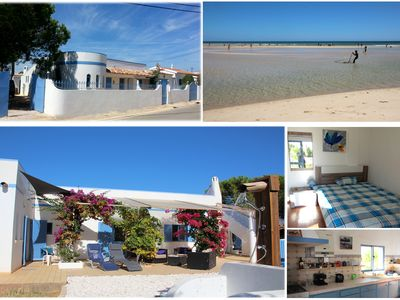 Photo for Big house with land! Very close to the sea! In the nature reserve Ria Formosa!