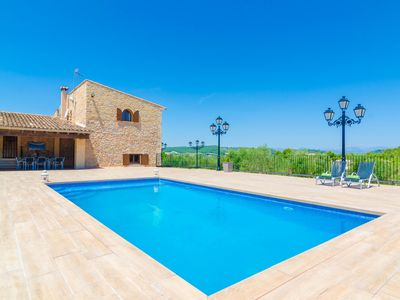Photo for SES ROQUES (BINIFARDA) - Villa with private pool in Sant Joan.