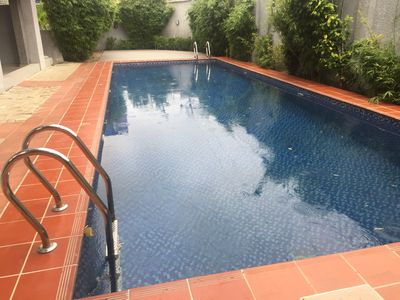 Photo for 3 bed/3 .5 bath with swimming pool and free unlimited WiFi