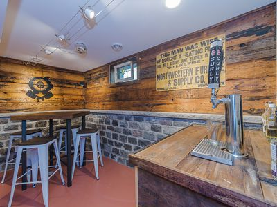 Photo for 2 beers on tap, completely renovated like new home close to downtown/airport