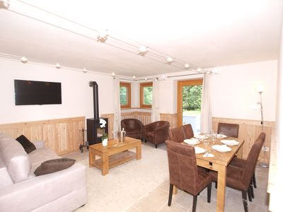 Photo for Champoluc centre next to ski lifts, 3 bedrooms , cosy log burner, Wifi, sleeps 6