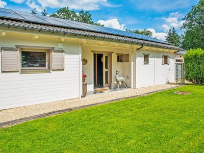 Photo for Charming Chalet in Grandhan with Jacuzzis near Ourthe River