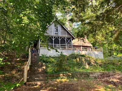 Photo for Lakeside 3 BR Cabin in Boothbay Harbor