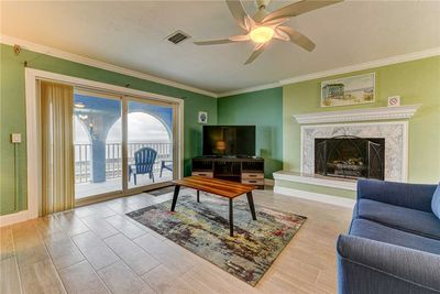 Cozy and Comfortable – All the amenities and more, including a cozy fireplace and access to an upper deck with amazing views.