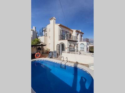 Photo for Modern 4 Bedroom semi detached villa in Albir,  Air-con, English TV