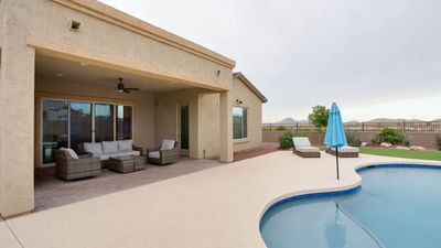 "Photo for ""Estrella Escape"".  Beautiful new 4 BR 2700 Sq ft rancher in Estrella Mtn Ranch"