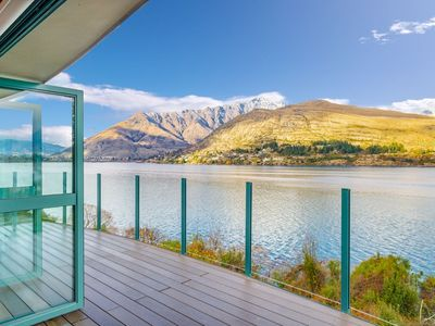 Photo for Huge Lakefront Delight - Queenstown Holiday Home