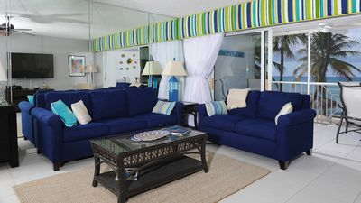 Oceanfront Living Room