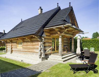 Photo for Rest and relaxation in the heart of nature. Just 100 meters from the lake.