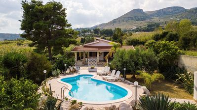 Photo for Villa in Scopello with 5 bedrooms sleeps 9