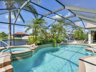 Photo for Luxury South Facing Gulf Access Pool/Spa Home with Pool Table & Free Wifi