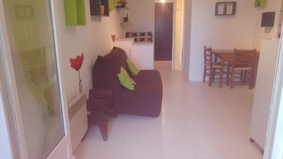 Photo for Holidays: studio in Carnon beach near port and sea