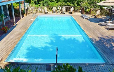 Photo for Sunny, Luxury Condo with HEATED POOL, Water View, Huge Private Deck!