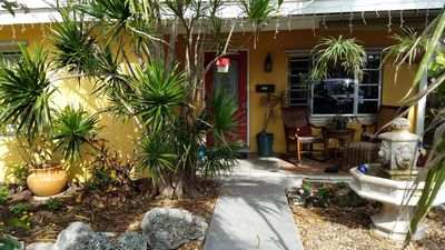 """Photo for Gorgeous garden bungalow """"old town"""" Key West home just blocks from  the beach"""