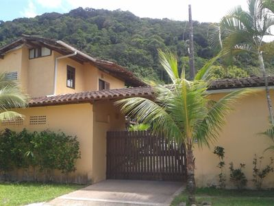 Photo for Rustic chalet with barbecue and views of the Atlantic Forest - sleeps 04 people