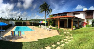 Photo for HOUSE IN MACEIÓ - Pools, 4 Bedrooms, AR and WI-FI, 150m from the beach, Max 15 people