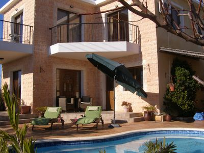 Photo for Villa Julieann With Private Pool,Stunning Sea & Mountain Views. Great for walks.