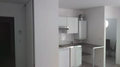 Photo for 37m2 apartment - secure garage - terrace - 20mn center of Nantes-bus