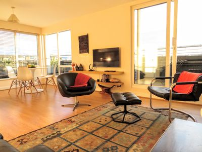 Photo for Engine Alley Apt 5 , Bright, Spacious 2 bed with large terrace and city views