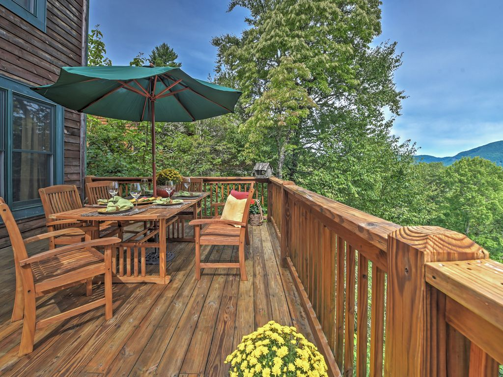 Indulge In An Unforgettable North Carolina Escape With This Breathtaking  Whisper Lake Vacation Rental Cabin!