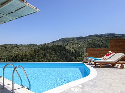 Photo for Early bird offer: Alba Luxury Home with private pool and panoramic town views