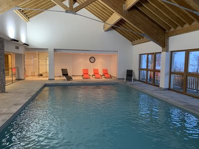 Photo for Super Duplex ski and pool and spa benefits