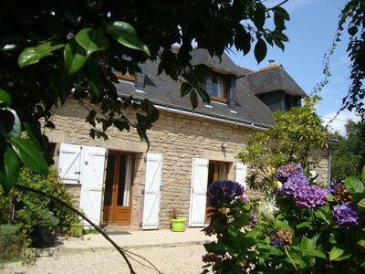 Photo for Cottage with HEATED  INDOOR POOL / SPA facilities Langonnet  Morbihan ,Brittany
