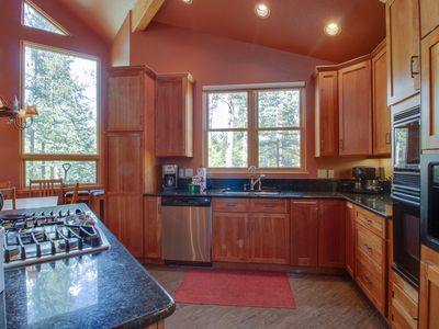 Photo for Spacious ski-in/ski-out mountain home w/ deck, private hot tub & more!