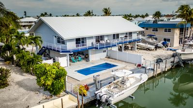 Photo for Angler's Dream 2bed 2bath Half Duplex with private pool & dockage