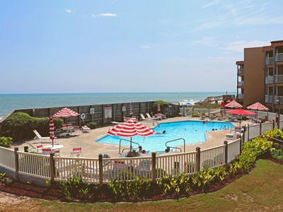 Photo for Beautiful Oceanfront Condo Steps From The Beach.  New  2019 Rental.