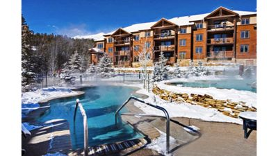Photo for Last Chance, Price Reduced!!  Luxury ski-in ski-out next to SuperChair!