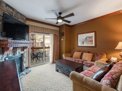 Photo for Mountain View, Ski In/Out, 1 BR Luxury Suite, Balcony, Westgate Resort SPA/Yoga