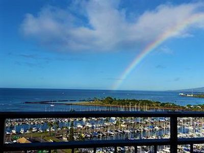 Photo for Sky High Direct Oceanfront Waikiki Panoramic View