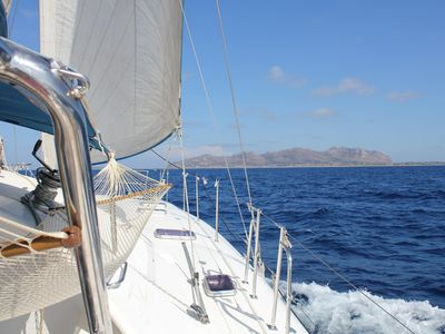 Photo for Charter sailing Catamaran with skipper and hostess