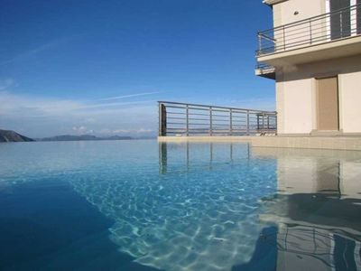 Photo for AVAILABLE IN AUGUST/JULY Luxury 5 Bedroom Villa at Lefkas with Fantastic Views