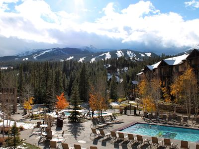 Photo for Mtn Lodge Resort, Fun, Pools, Free Private Shuttle, 2BR 2BA, Aug 10-17
