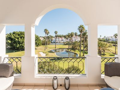 Photo for Townhouse near beach with amazing Golf course view
