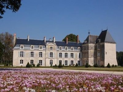 Photo for Castle in the Loire Valley in a 30 ha historical park with heated pool