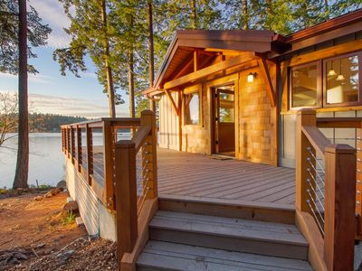 Photo for NEW LISTING! WATERFRONT -WESTCOTT BAY near ROCHE HARBOR! (Oyster Beach House)