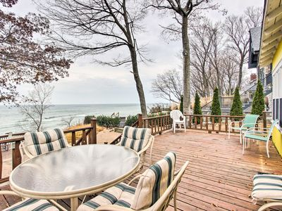 Photo for Holland Cottage w/ Private Beach on Lake Michigan!