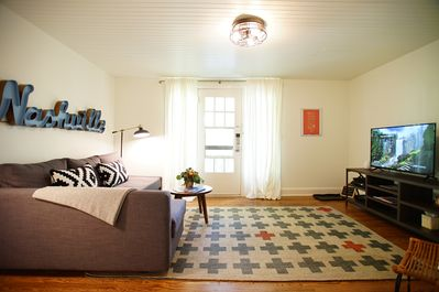 You'll love the generous light and spacious room to relax