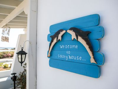 Photo for Salty House just a few steps from Glyfada beach Naxos