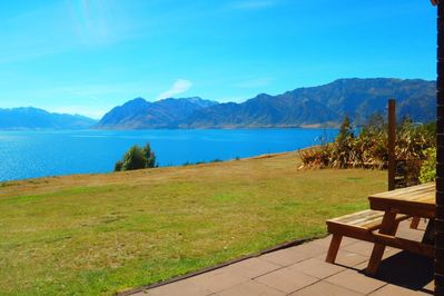 View from Bellevue Lakefront, Lake Hawea, Wanaka, South Island, New Zealand