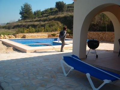 Photo for Beautiful luxurious Finca with private pool, terrace and stunning rural views