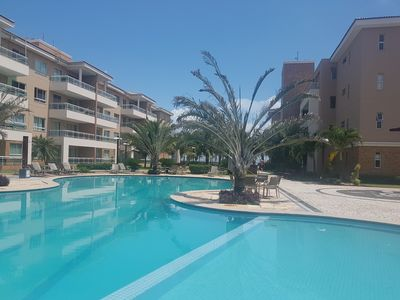 Photo for COMPLETE SUITE FRONT SEA IN CUMBUCO, SWIMMING POOLS, SAUNA, CAFE OF THE MORNING