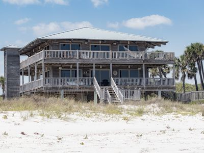Photo for 4BR/3.5BA BEACHFRONT LUXURY, 100ft of uncrowded beaches, kayaks & beach gear